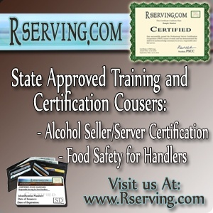 Utah Alcohol Seller and server certification